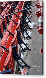 After The Game Acrylic Print by Greg DeBeck