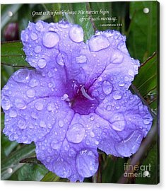 After The Rain #3 Acrylic Print by Robert ONeil