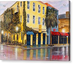 After The Rain Acrylic Print by Chris Fraser