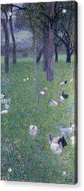 After The Rain Acrylic Print by Gustav Klimt