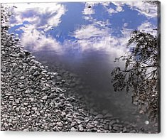 After The Rain Acrylic Print by Kristie  Bonnewell