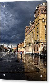 After The Rain Acrylic Print by Tom Bell