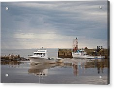 Acrylic Print featuring the photograph After The Rain by WB Johnston