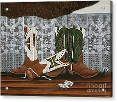 After The Rodeo Dance Acrylic Print