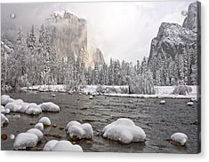 Acrylic Print featuring the photograph After The Storm by Judi Baker