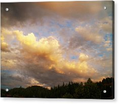 After The Storm -  Lake Arrowhead Acrylic Print by Glenn McCarthy Art and Photography