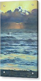 Acrylic Print featuring the painting After The Storm by Lori Brackett