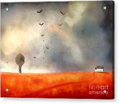 After The Storm Acrylic Print by Pixel Chimp