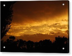 Acrylic Print featuring the photograph After The Storm by Ramona Whiteaker