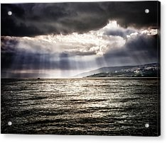 After The Storm Sea Of Galilee Israel Acrylic Print by Mark Fuller