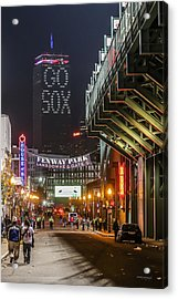 After The Win   Acrylic Print by Paul Treseler