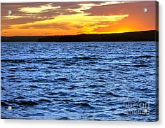 Afterglow Acrylic Print by Olivier Le Queinec