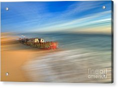Aftermath - A Tranquil Moments Landscape Acrylic Print by Dan Carmichael