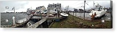 Aftermath Of Hurricane Sandy, Island Acrylic Print by Panoramic Images