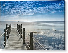 Afternoon At Currituck Sound Acrylic Print