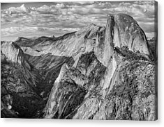 Afternoon At Half Dome Acrylic Print by Harry H Hicklin
