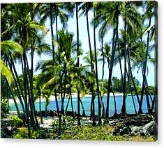 Afternoon At Kakaha Kai Acrylic Print