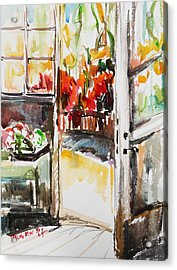 Afternoon Acrylic Print by Becky Kim