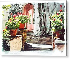 Afternoon Delight - Hotel Bel-air Acrylic Print