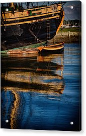 Afternoon Friendship  Reflection Acrylic Print by Jeff Folger