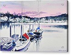 Afternoon Gig Harbor Acrylic Print