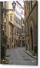 Afternoon In Florence Acrylic Print by Michael Flood