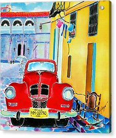 Afternoon In Havana Acrylic Print