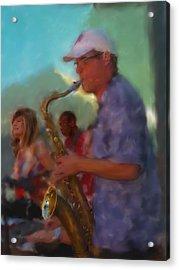 Afternoon Jazz Acrylic Print