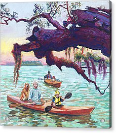 Afternoon Kayak Acrylic Print