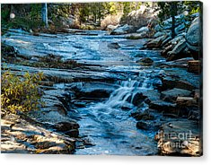 Afternoon Light On River. 1-7706  Acrylic Print