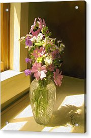Afternoon Light Acrylic Print by Ric Darrell