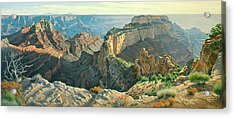 Afternoon-north Rim Acrylic Print