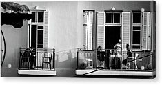 Afternoon On The Balcony Acrylic Print