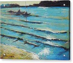 Afternoon Shoreline Acrylic Print