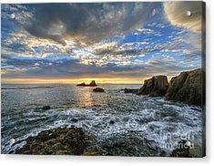 Afternoon Sky In Laguna Beach Acrylic Print