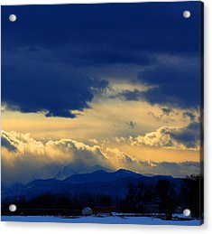 Acrylic Print featuring the photograph Afternoon Storm by Silke Brubaker