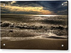 Acrylic Print featuring the photograph Afternoon Swell by Julis Simo
