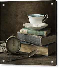 Afternoon Tea Acrylic Print by Amy Weiss