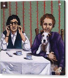 Afternoon Tea Acrylic Print by Linda Apple