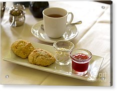 Afternoon Tea Acrylic Print by Louise Heusinkveld