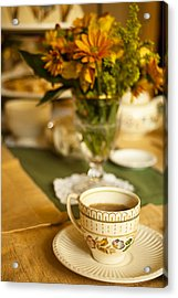 Afternoon Tea Time Acrylic Print by Andrew Soundarajan