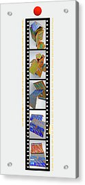 Aftershocking Acrylic Print by Charles Stuart
