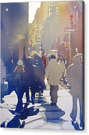Against The Light Acrylic Print by Kris Parins