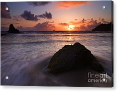 Against The Tide Acrylic Print
