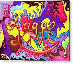 Agape Acrylic Print