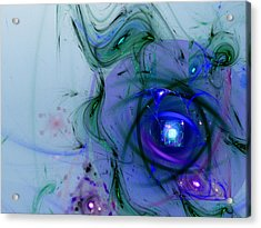 Agasti Lakshmi Stotra Acrylic Print by Jeff Iverson