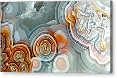 Agate 4 Micro Acrylic Print