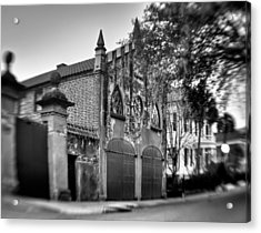 Aged Carraige House Acrylic Print by Andrew Crispi