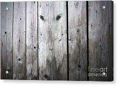 Aged Wood Boards Acrylic Print by Jolanta Meskauskiene