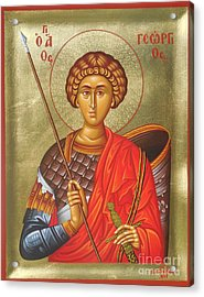 Agios Georgios - Saint George Acrylic Print by Theodoros Patrinos